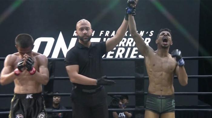 ONE Warrior Series 10: Pakistani MMA fighters Irfan Ahmed, Anita Karim victorious