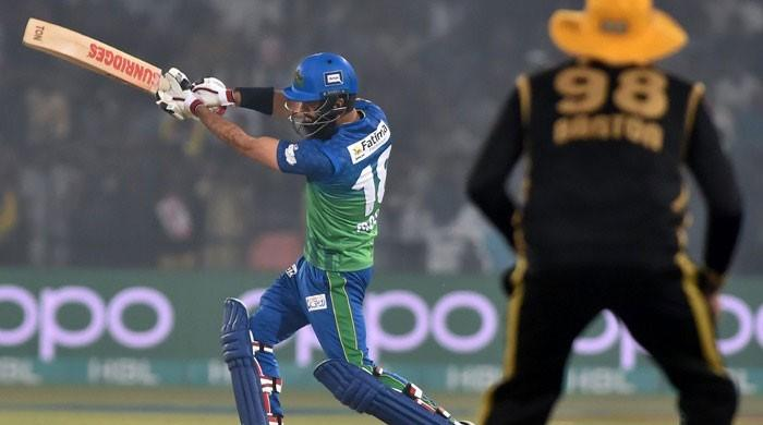 Sultans upset Zalmi in first-ever PSL match at Multan stadium