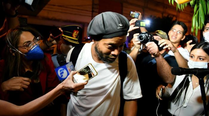 Paraguay court ordered Ronaldinho's release from house arrest