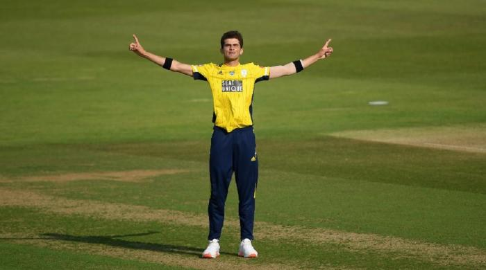 Was merely trying to bowl dot balls: Hampshire hero Shaheen Afridi on 6-wicket haul