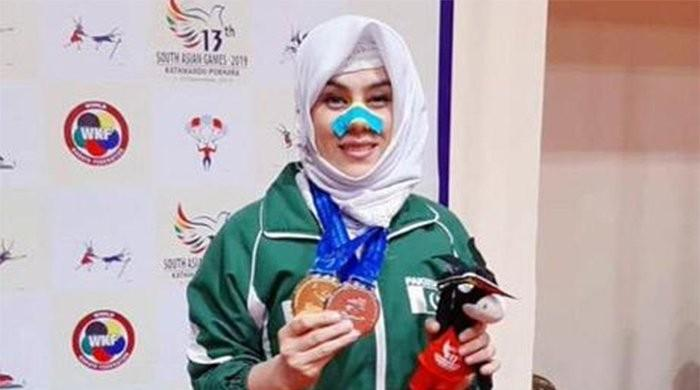 Karate star Kulsoom Hazara reminds sponsors, govt there is more to sports than cricket