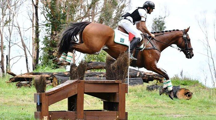 Need govt's help to raise Rs140m for Olympic horse: Usman Khan