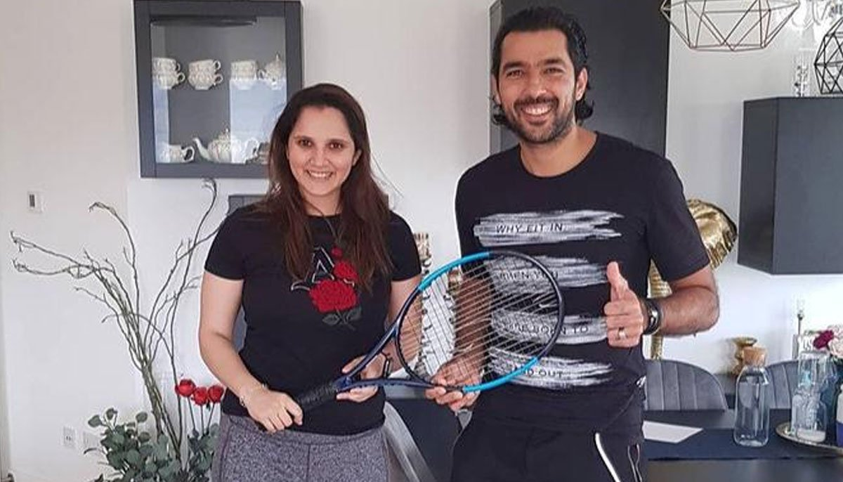 Sania Mirza donates to Aisam-ul-Haq's charity initiative | - GeoSuper.tv