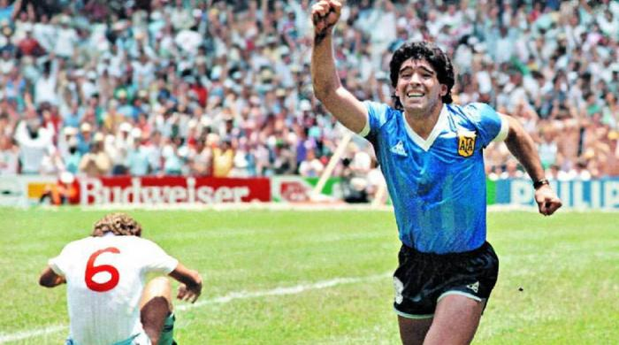 Watch: Diego Maradona's Goal of the Century from 1986 World Cup