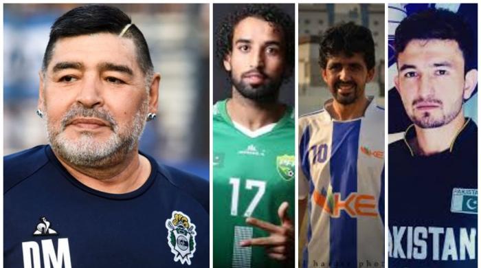Pakistan football community pays tribute to Maradona