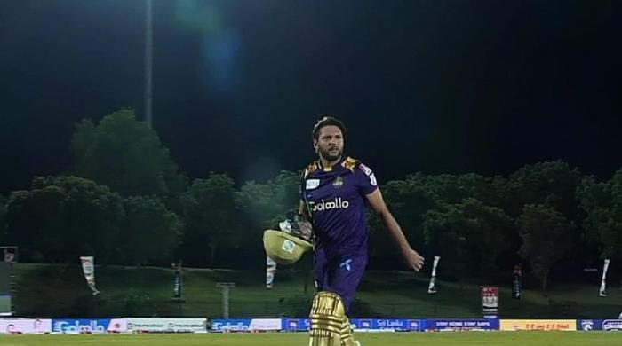 Watch Shahid Afridi's vintage 20-ball 50 for Galle Gladiators in LPL 2020