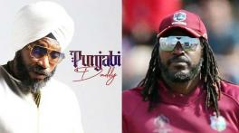 Chris Gayle, 'Universe Boss', releases his song 'Punjabi Daddy'