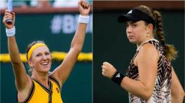 Azarenka sails through the WTA final, beating Ostapenko