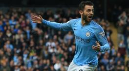 Bernardo Silva's performance against Burnley was 'out of this world', says Pep Guardiola