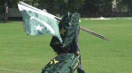 T20 World Cup: Why Pakistani players carry national flag during training?