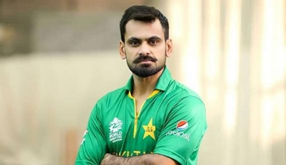 Pakistani all rounder Mohammad Hafeez ka bowling action clear qarar