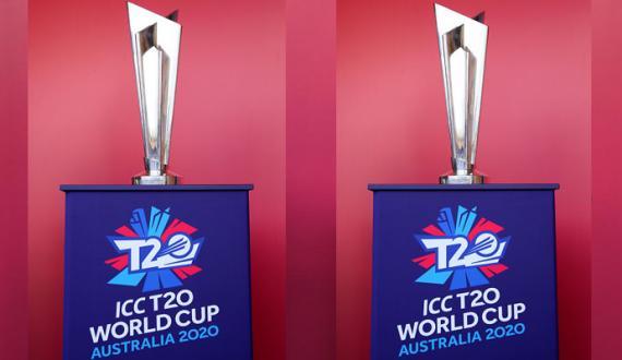 Corona ke baees T20 World Cup Trophy tour multavi
