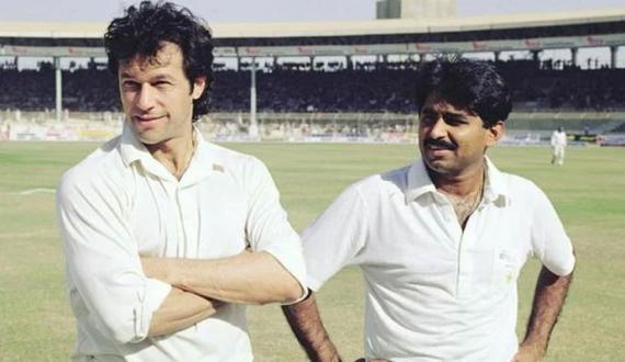 saabiq cricketer ne imran aur miandad ko dream kaptaan aur naib kaptaan chun liya