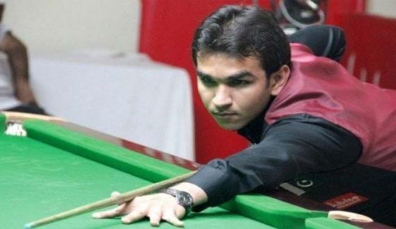Hamza Akbar world snooker championship mein shirkat se mehroom