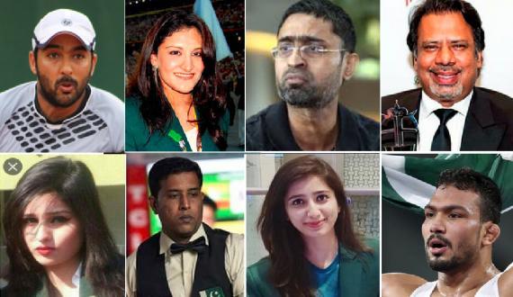 national athletes ka cricket team kay liyay naik khuwahishaat ka izhar