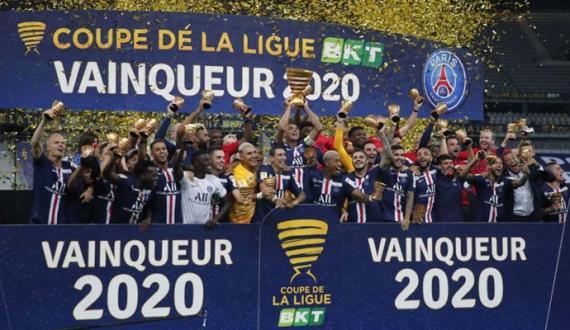 French League Cup Paris Saint Germain ne jeet liya