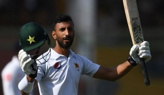 shan masood ki musalsal tesri test innings main century