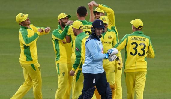 australia nay england ko pehla one day match 19 runs sae haradia