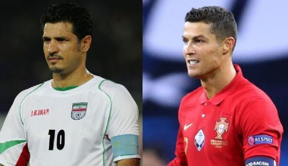 Cristiano Ronaldo kay naye hareef Ali daye