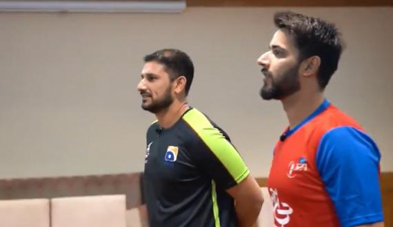 Before PSL5 Final Both Team Captain play another Game