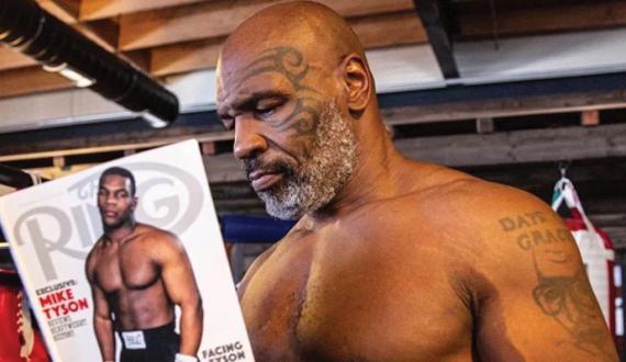 Mike Tyson 15 saal baad ring mien wapsi kay liye tayar