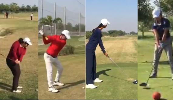 Lahore Golf Championship 3 Days Trail Start