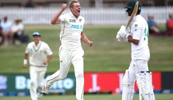Christchurch test Pak team sakht mushkilaat mai