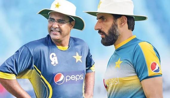 Team performance PCB Meeting Misbah ul haq and Waqar Younis