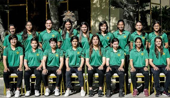 Pakistan Women Team South Africa keliye rawana
