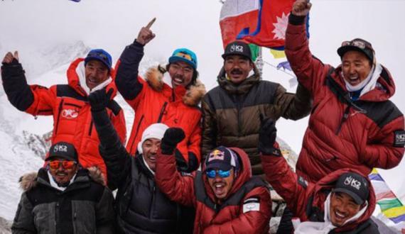 neeplai climber team ka sughar pohachnay par shandar istaqbal