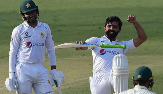 karachi test ka dosra roz pakistan ko junoobi africa per 88 runs ki bartari hasil