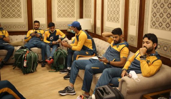 pakistan south africa teams hotel sae airport rawana
