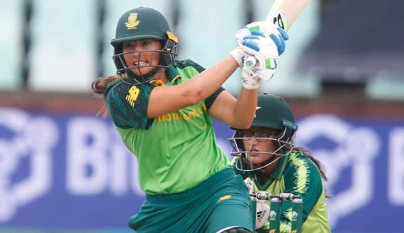 Durban South Africa women team won the Series against Pakistan Women by Two Zero