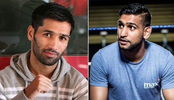 boxer ki halakat boxer amir aur wasim ka gham o ghusay ka izhar