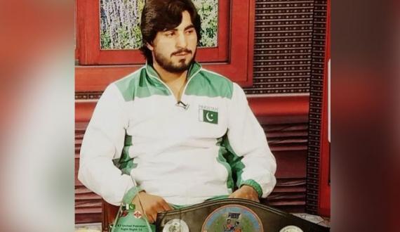 boxer muhammad aslam ki tadfeen abai elaqay mein kardi gai