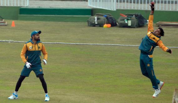 Pakistan aur south Africa ki teams ka doora practice session