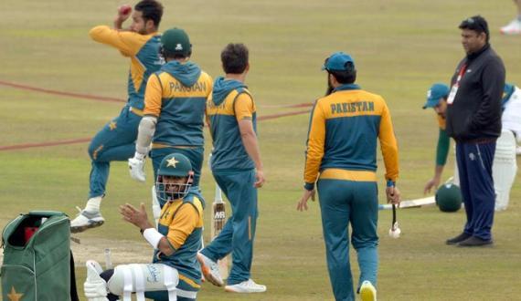pindi test sae qabal pakistan aur junubi africi team ka akhri practice session