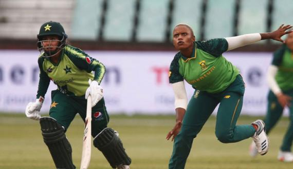 aakhri t20 main pakistani women team kamiyab do ek say series junoobi africa kay nam