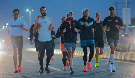 karachi mein pehli martaba almi mayar ki Marathon race ka ineqad