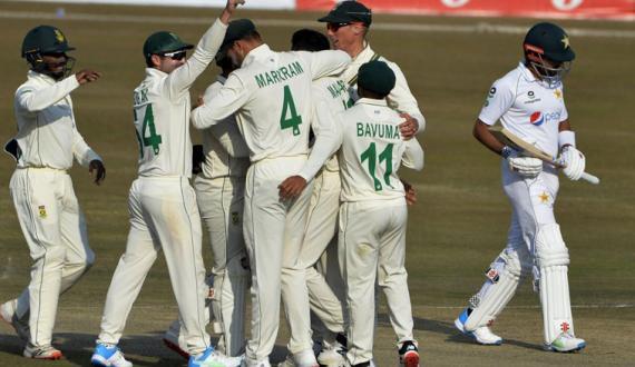 pakistan 2nd inning batting