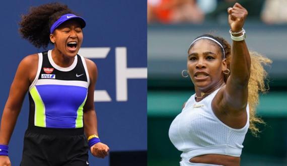Serena Naomi Osaka aglay round mein pohanch gai Angelique Kerber har kar event sae bahar