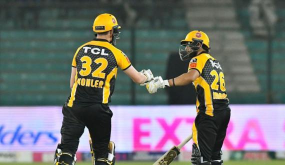 psl 6 main peshawar zalmi nay multan sultans ko 6 wickets say shikast dedi