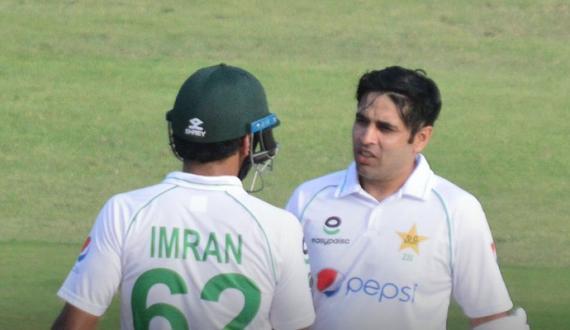 Harare test kay pehle roz Pakistan kay bagher wicket ganwaye 103 runs