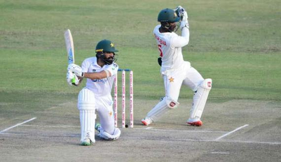 Pakistan aur Zimbabwe kay darmiyan dosra test aaj dono temas jeet kay liye tayyar