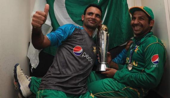 Fakhar Zaman nay champions trophy ki yadain taza kardi