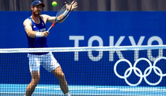 Tokyo Olympics Tennis khilari Andy Murray dastabrdar