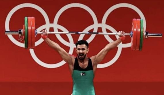 Weight lifter talha talib nay qoum kay dil jeet liye