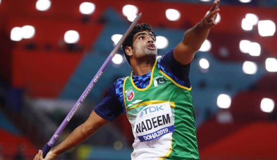 tokyo olympics arshad nadeem medal jetnay kay liye puazam