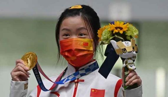 Tokyo Olympics chotyay roz china aur russia ke 3 3 gold medals