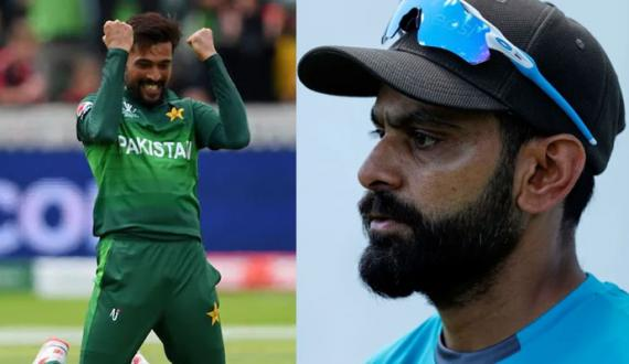 domestic central contarct muhammad amir in muhammad hafeez out